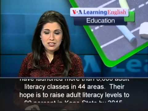 Nigeria's Kano State Starts a Major Literacy Campaign