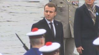 Premier 11 Novembre pour Emmanuel Macron