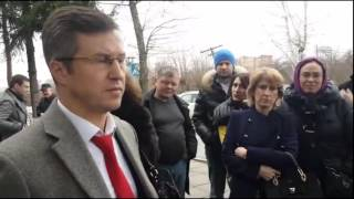 Дольщики - Адвокат Кишенкова даёт интервью - Белый город Сабидом