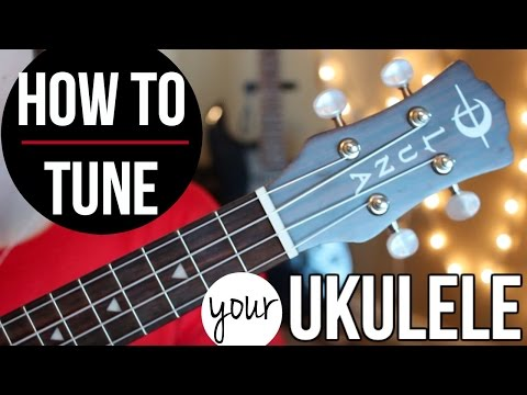 How to tune a ukulele THE EASY WAY