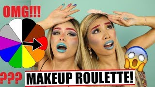 OH NEIN! 😱Makeup ROULETTE Challenge mit Hayley Bui! l Kisu