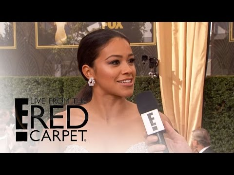 "Gina Rodriguez Talks Britney Spears on ""Jane the Virgin"" 
