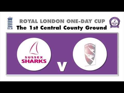 Sussex Sharks v Kent Spitfires - Royal London One-Day Cup
