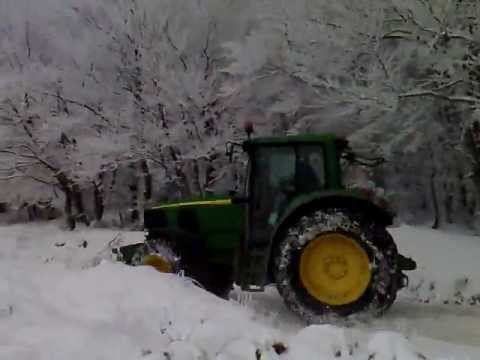 TRACTOR IN SNOW PART2-ΤΡΑΚΤΕΡ ΣΤΑ ΧΙΟΝΙA