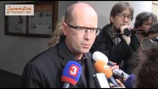 Volby 2012 - 2. kolo do Senátu - Reakce představitelů ČSSD - 20.10.2012