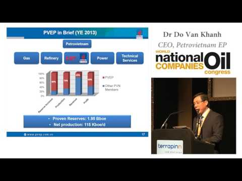 Dr Do Van Khanh - Petrovietnam E&P in the Internationalization