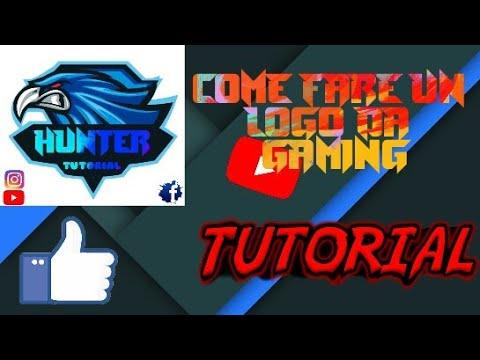 Come Fare Un Logo Da Gaming Con Picsart Youtube