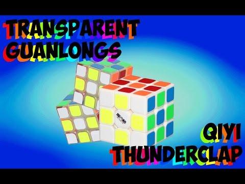 2x Transparent GuanLong + Thunderclap Unboxing! - Cubezz.com