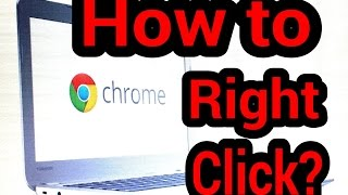 How to Right click copy and paste with Chromebook tutorial