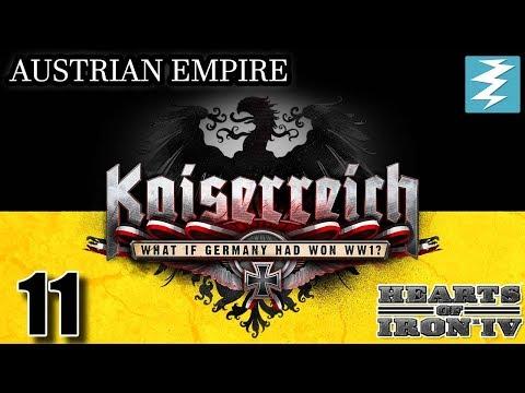 NEW ENEMY DECLARES WAR !!! [11] Austria - Kaiserreich Mod - Hearts of Iron IV HOI4 Paradox