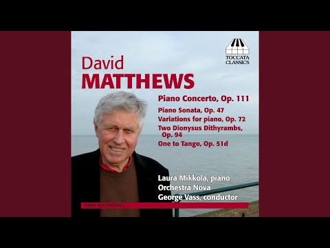 Variations For Piano, Op. 72: Theme: Allegro