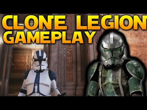 CLONE LEGION GAMEPLAY (Datamined) - Star Wars Battlefront 2 (501st, 41st, 327th & More)