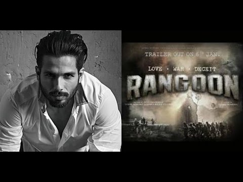 Shahid Unhappy With The 1st Poster Of 'Rangoon' | Bollywood News