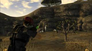Fallout: New Vegas Alien Blaster and Spaceship Location