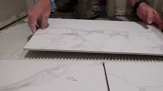 How To Install Porcelain Tile On A Bathroom Floor SIMPLE & EASY