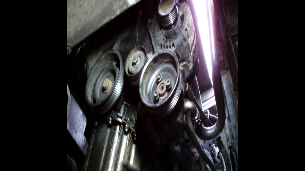 maxresdefault volkswagen golf power steering pump replacment youtube  at gsmx.co