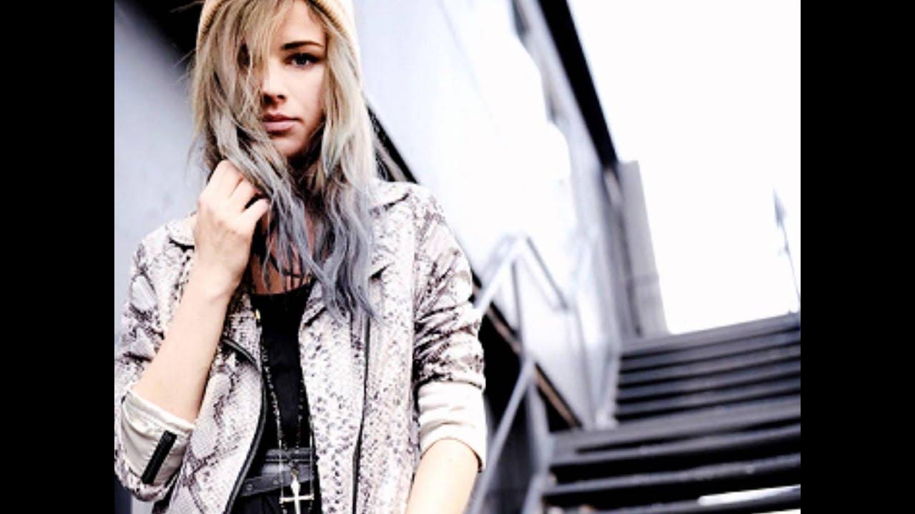 Blonde Haare Mit Bunten Spitzenwmv Youtube