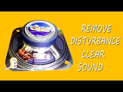 How to make clear sound on speaker without  disturbance