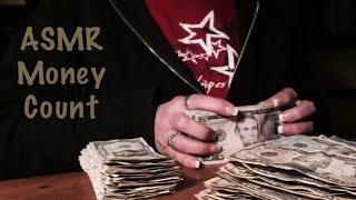 ASMR $1000 Dollar money count. Crispy, crinkly paper money only (No talking) major crinkles
