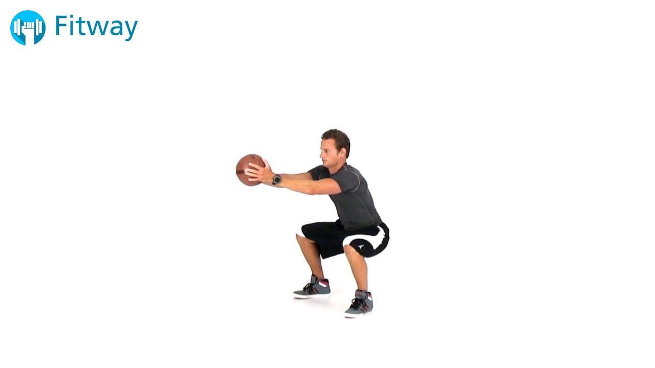 How To Do Medicine Ball Iron Chair