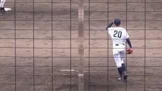 2014/7/19@呉二河球場 新庄・堀瑞輝投手(1年)の快投!