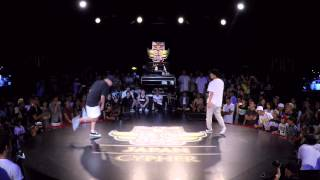 KATSUYA vs NORI | Red Bull BC One Japan Cypher 2015 - FINAL