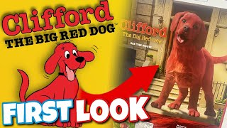Live Action Clifford Movie (2021) First Look.. WTF?!