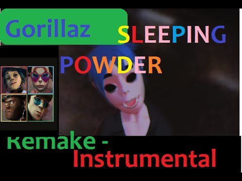 Gorillaz - Sleeping Powder (Karaoke/Instrumental) with Lyrics |HD
