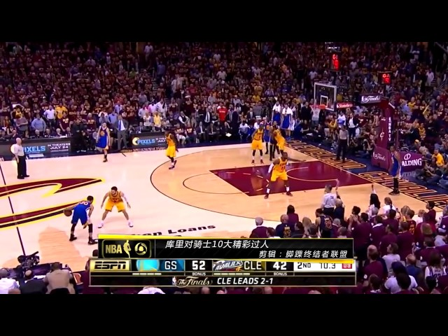 Stephen Curry Top 10 Crossovers vs Cleveland Cavaliers