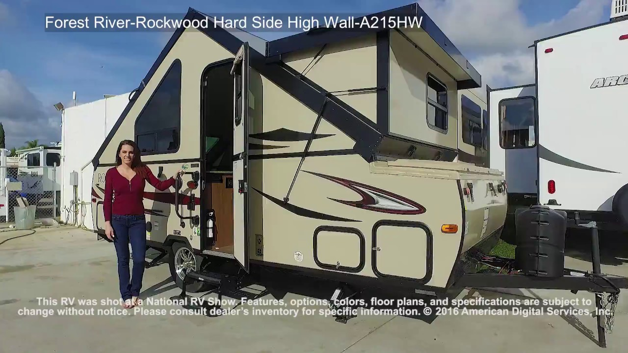 Forest River Rockwood Hard Side High Wall A215hw Youtube