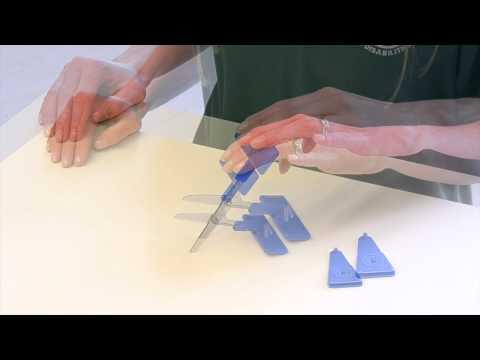 Push Down Table Top Scissors 3