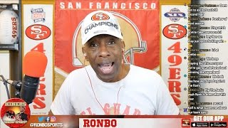 Ronbo Sports In Yo Face, At Yo Place Watching The Game! 49ers VS Jets 2016 Week 14 NFL