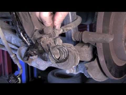 Taurus Rear Calipers - YouTube