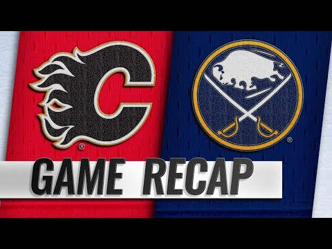 Gaudreau scores OT winner to lead Flames past Sabres