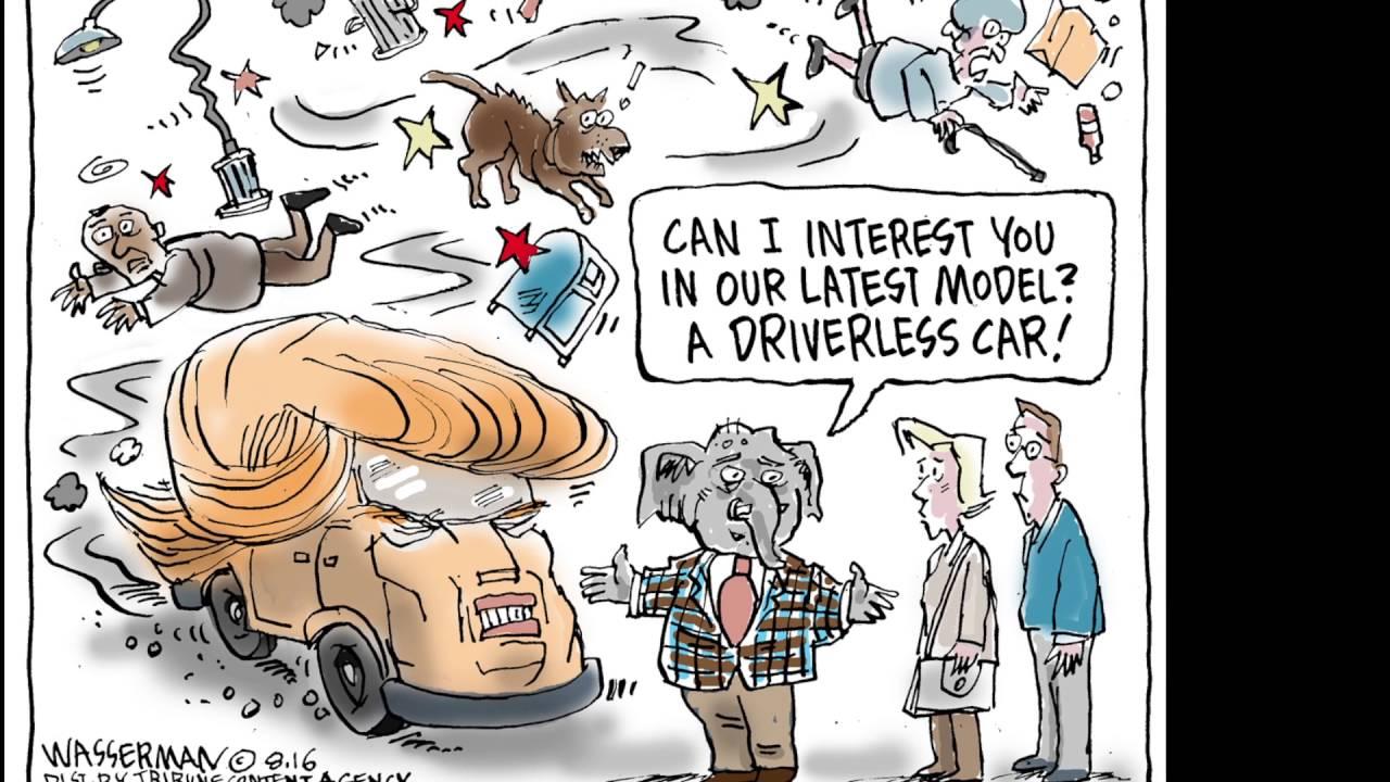 The week's best political cartoons - YouTube