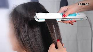 inkint Steam Hair Straightener Flat Iron with Steam-Review (B0761QB1PN)