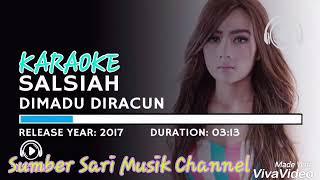 Salsiah - Dimadu Diracun  (Karaoke Lirik)