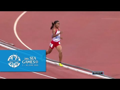 Athletics Womens 10000m Final (Day 6) | 28th SEA Games Singa