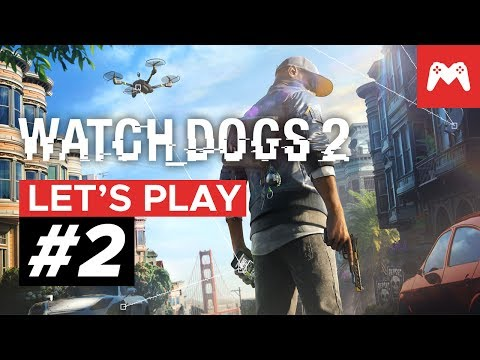 "Watch Dogs 2 Main Operation Gameplay: ""Looking Glass"" & ""Limp Nudle"" 