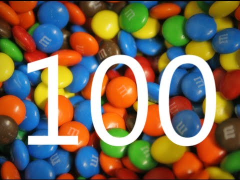 Big Numbers Song Learn to Count from 1100 with yummy candies