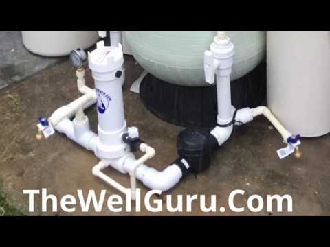 2019 Best Whole Home Well Water Filtration System  FREE delivery ( See description )