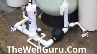Best Whole Home Well Water Filtration System  what The EPA recommends Full oxidation platform 2019