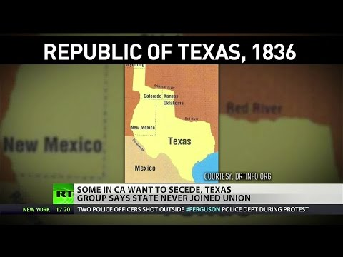 Texans hope to secede from US, Californians aim to split state
