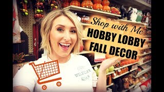 HOBBY LOBBY SHOP WITH ME + FALL HAUL | Summer Whitfield