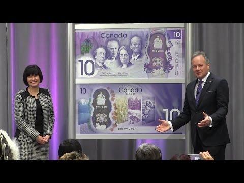 Commemorative $10 bill unveiled to mark Canada's 150th