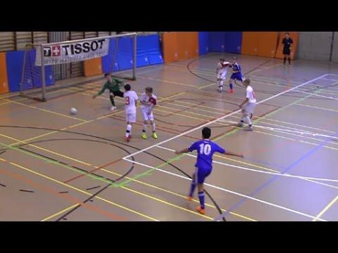 Indoor Du Locle M14 2016 FC Sion - Lausanne Sport