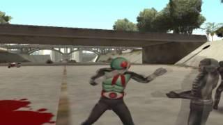 GTA WTF : Kamen rider ไอ้มดเเดงอาละวาด