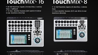 QSC Touch Mix 8 & 16 Review and Training