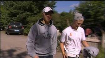 30.8.2009 YLE Urheiluruutu - Mikael Granlund ja Teemu Pulkkinen