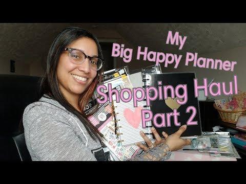 My Big Happy Planner Shopping Haul • Hobby Lobby & Michael's *Part 2   TheMrsTee